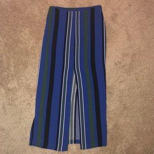 Topshop Stripe Skirt